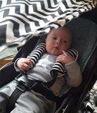 Zwart Wit Baby schaduwdoek
