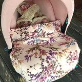 Maxi Cosi dekje roze